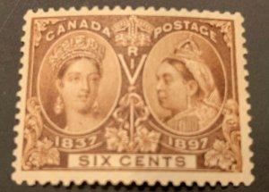 Canada #55 MINT VF LH Jubilee C$300.00