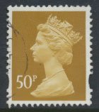 Great Britain SG Y1726 Sc# MH271  Used / FU  - Machin 50p  see details and sc...