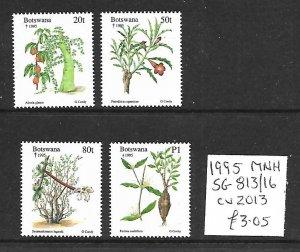 Botswana MNH 813-6 Plants 1995