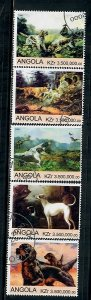 Angola Used Dogs partial set CTO