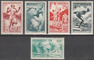 Monaco #204-8 F-VF Unused CV $9.25 (SU4549)