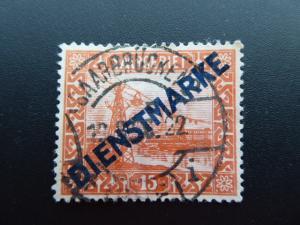 Germany  Saargebiet 1922  Sc.# o5
