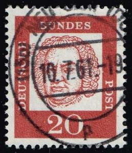 Germany #829 Johann Sebastian Bach; Used (0.25)
