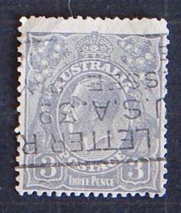 King George V, 3p, Austraiia (1963-T)