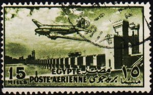 Egypt. 1953 15m S.G.434 Fine Used