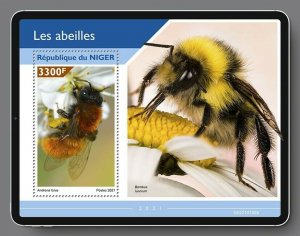 Stamps of NIGER 2021- BEES 2