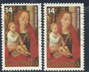 Can #774   (2)   used VF 1978 PD