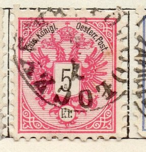 Austria 1883 Early Issue Fine Used 5kr. NW-11543