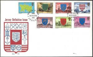 Jersey January 29, 1976 First Day Cover