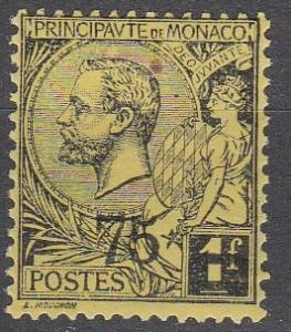 Monaco #58 F-VF Unused