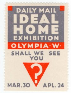 (I.B-CKK) Cinderella Collection : Ideal Home Exhibition (Olympia 1934)