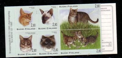 Finland Sc 977a 1995 Cat stamp booklet mint NH