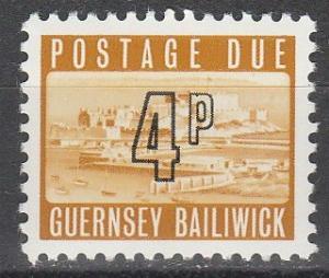 Guernsey #J12  MNH  (S4207)
