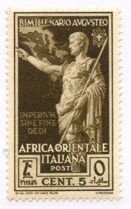 Italian East Africa, Scott #21, Unused, Hinged