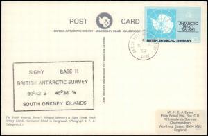 British Antarctic Territory #106, Antarctic Cachet and/or Cancel