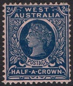 WESTERN AUSTRALIA 1902 QV 2/6