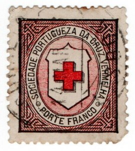 (I.B) Portugal Cinderella : Red Cross (Porte Franco)