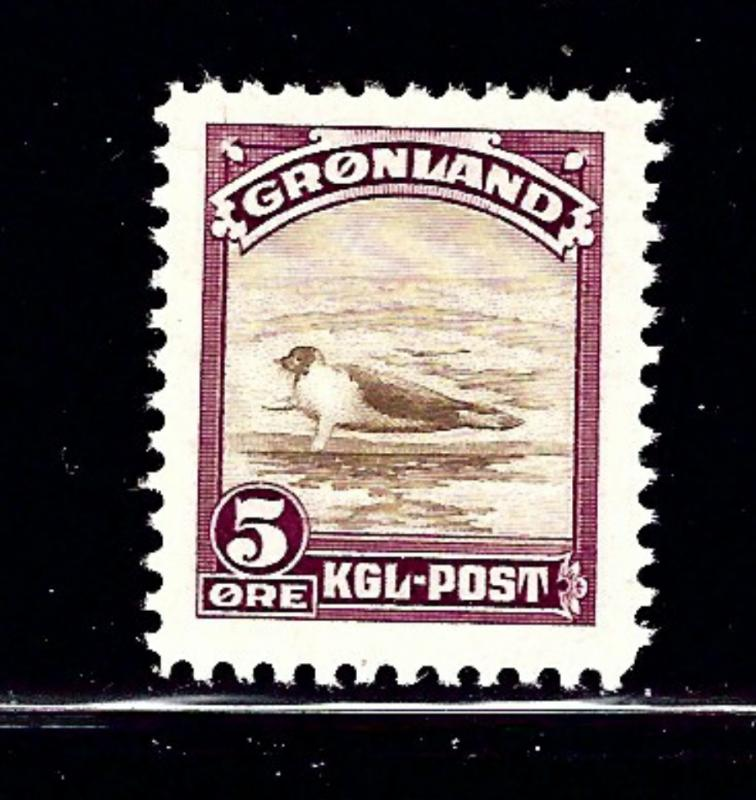 Greenland 11 MH 1945 Seal