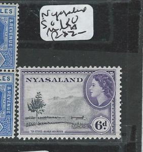 NYASALAND  (P2605B) QEII 6D  SG 180  MNH
