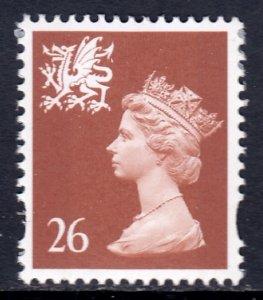Great Britain (Wales & Monmouthshire) - Scott #WMMH74 - MNH - SCV $2.00