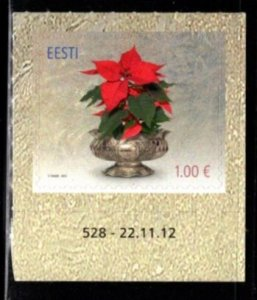 Estonia - #718 Christmas 2012 - MNH