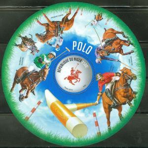 NIGER 2013 POLO CHAMPIONS SOUVENIR SHEET