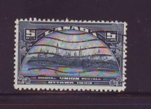 Canada Sc 202 1933 5c UPU Meeting Ottawa stamp used