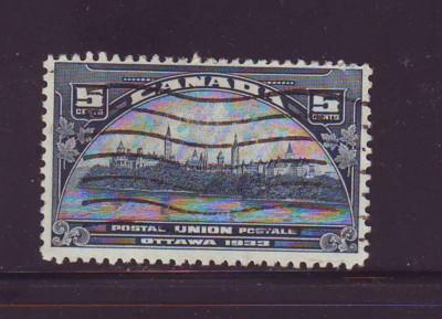 Canada Sc 202 1933 5c UPU Meeting Ottawa stamp used