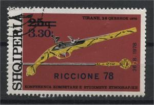 ALBANIA  INTERNATIONAL FAIRE RICCIONE 1978  U SET