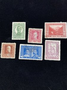 Early Bosnia Used Stamp Lot- Interesting Cancellations #0114