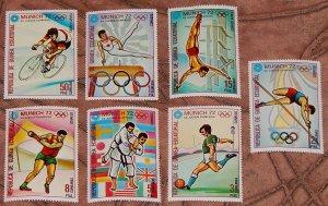 1972 Equatorial Guinea 108-114 1972 Olympic Games in Munich