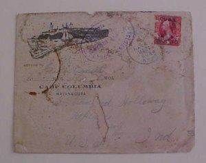 CUBA 1899 CAMP COLUMBIA HAVANA SOLDIER LETTER MARCH 14