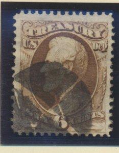 United States Stamp Scott #O75, Used - Free U.S. Shipping, Free Worldwide Shi...