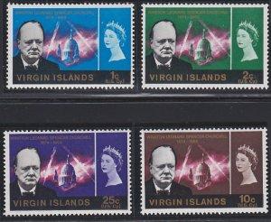 Virgin Islands 163-166 MNH (1966)