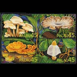 PALAU 1989 - Scott# 211a Mushrooms Set of 4 NH
