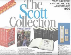 Scott Switzerland #22 Supplement 1990