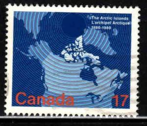 Canada # 867 ~ Used, HMR
