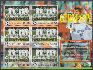 2006 Grenada 5716KL 2006 FIFA World Cup Germany( Serbia and Montenegro ) 9 €