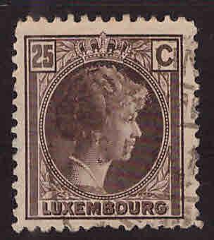 Luxembourg Scott 164 Used stamp