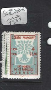PARAGUAY  (P2505B) MALARIA A/M  SC C265-8   MOG