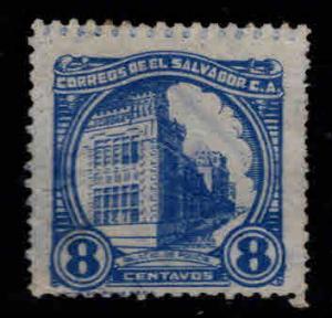 El Salvador Scott 537 Used light cancel