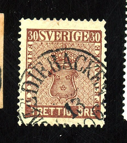 SWEDEN #11A USED FVF Cat $88