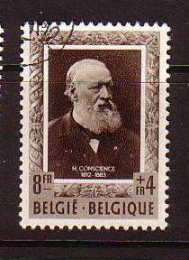 Belgium Sc B520 1952 Conscience stamp used