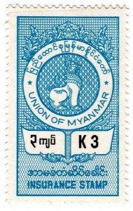 (I.B) Burma (Myanmar) Revenue : Insurance 3K