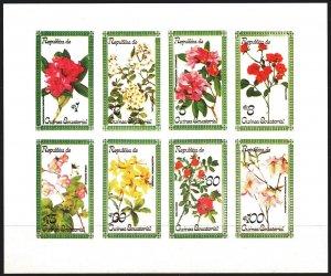Equatorial Guinea. 1977. Flowers, flora. MNH.