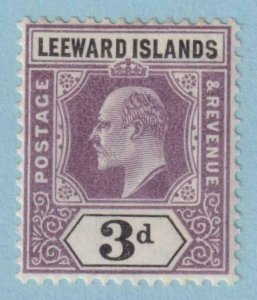 LEEWARD ISLANDS 33  MINT HEAVY HINGED OG * NO FAULTS VERY FINE!