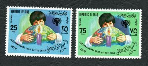 1979 - Iraq - International Year of the Child - Complete set 2v.MNH**