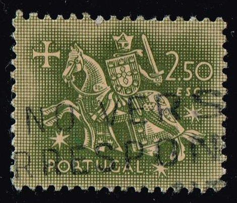 Portugal #771 Equestrian Seal of King Diniz; Used (0.25)