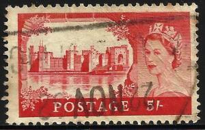 Great Britain 1955 Scott# 310 Used