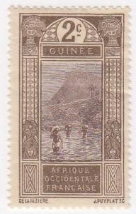 French Guinea, Scott # 64 (2), MH